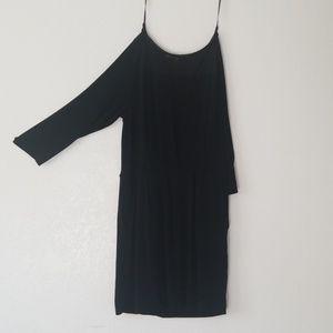 Black sparkle dress rachel roy